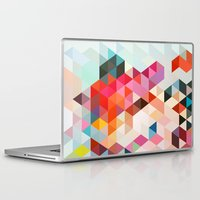 joy Laptop & iPad Skins featuring Heavy words 01. by Three of the Possessed