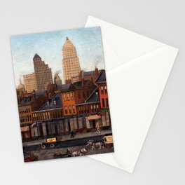 John Kane From My Studio Window Stationery Cards