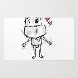 Little Robot Hug Anyone? Rug