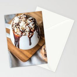 Cocoa and Cookies Stationery Cards