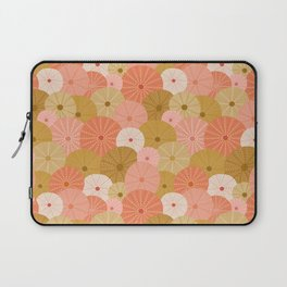 Sea Urchins in Coral + Gold Laptop Sleeve