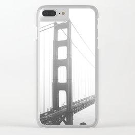 Golden Gate Bridge in San Francisco, California Clear iPhone Case