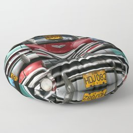 Cuba Car Grilles - Horizontal Floor Pillow