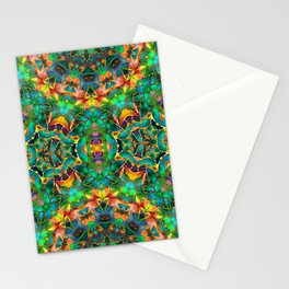 Fractal Floral Abstract G87 Stationery Cards