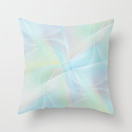 Abstract pastel no. 14 Throw Pillow