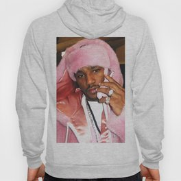 Cam'ron Pink Fur mood Hoody