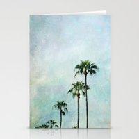 palm trees Stationery Cards featuring Palm trees by Sylvia Cook Photography