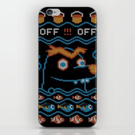Gerald Ugly Sweater iPhone Skin