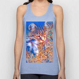 Wild Cat by GEN Z Unisex Tank Top