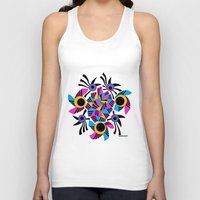 rose Tank Tops featuring - rose - by Magdalla Del Fresto