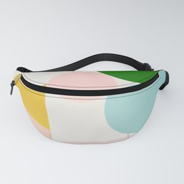 Abstraction_Minimal_Shapes_001 Fanny Pack