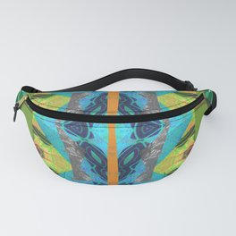 Merge Two or More Worlds Fanny Pack