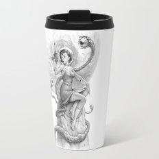 Astro Babe B&W Travel Mug