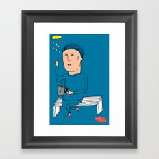 alone3 Framed Art Print