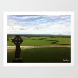 The Rock of Cashel Art Print
