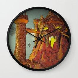 Eternal Skull Castle Wall Clock