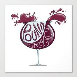 Wino Canvas Print