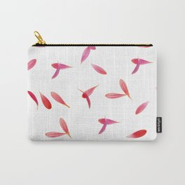 Red Rose Leaves Carry-All Pouch