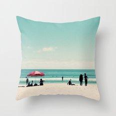 Kiwi Summer Throw Pillow