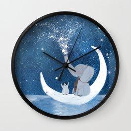 shooting stars Wall Clock