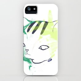 Frustrated Neo iPhone Case