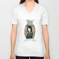 snape V-neck T-shirts featuring snape by hille