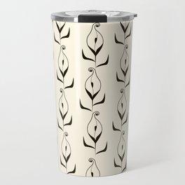 Art Deco No. 47 . Calla . Travel Mug