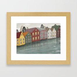 Norway. Framed Art Print