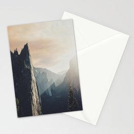 Up in the cliffs, down on my mind  Stationery Cards