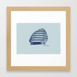 City Hall Framed Art Print