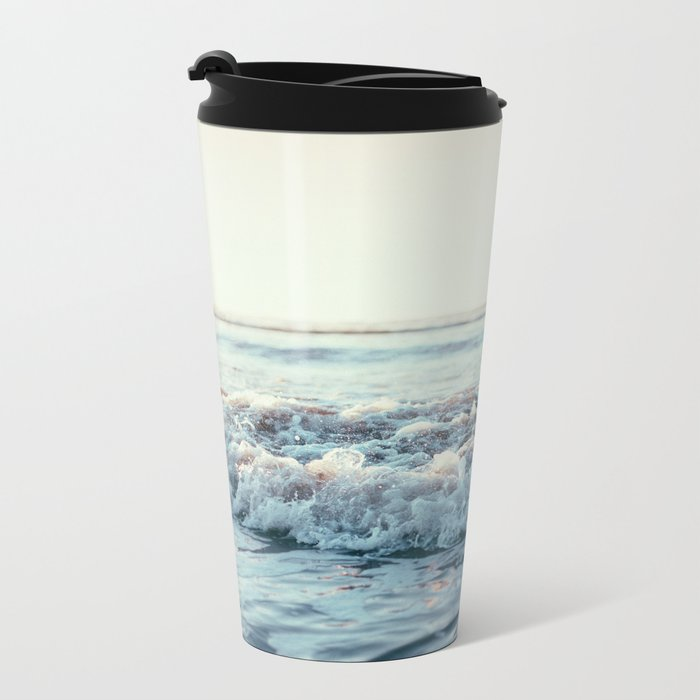 Pacific Ocean Metal Travel Mug