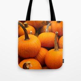 Orange Pumpkins Tote Bag