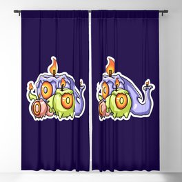 Friendship is the candle that lights up your heart Blackout Curtain