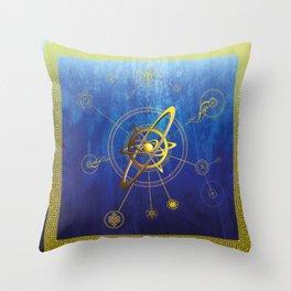 aNu Aureum Universo Throw Pillow