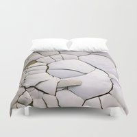 shell Duvet Covers featuring Shell by CrookedHeart