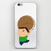 cookie iPhone & iPod Skins featuring cookie by Alapapaju