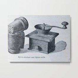 Spice mill Metal Print