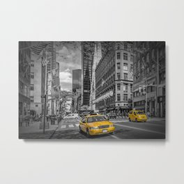 MANHATTAN 5th Avenue Metal Print