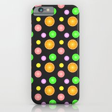 Orange, lemon, lime and grapefruit summer party pattern iPhone 6s Slim Case