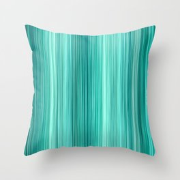 Ambient 5 in Teal Throw Pillow