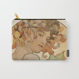 Alphonse Mucha - Fruit 1897 Carry-All Pouch
