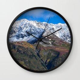 Portage Valley Termination Dust - Alaska Wall Clock