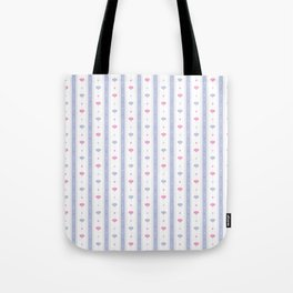 Soft Flowers Wallpaper Tote Bag