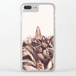 morning? Clear iPhone Case