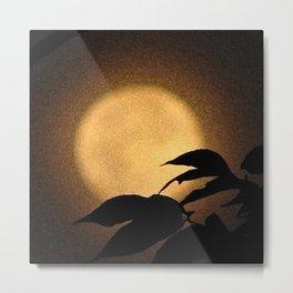 Autumn Moon Metal Print