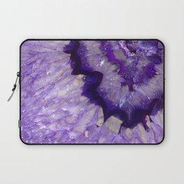Purple Crystal Laptop Sleeve