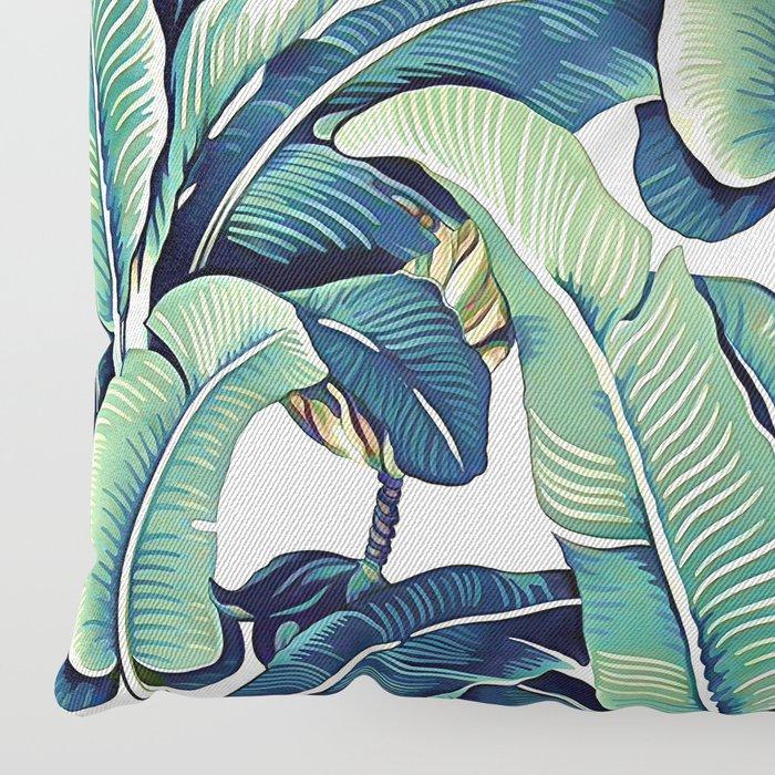 Banana leaves Floor Pillow