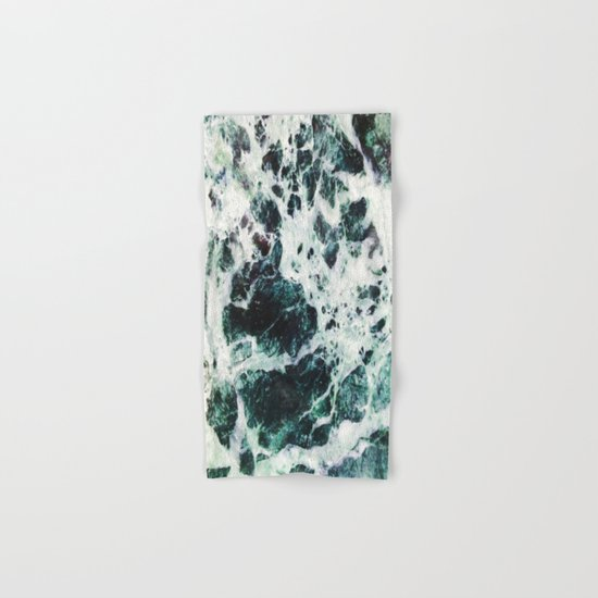 Green Marble  Hand & Bath Towel