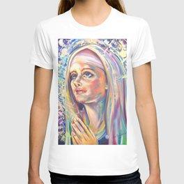 Saint Claire of Assisi, potrait T-shirt