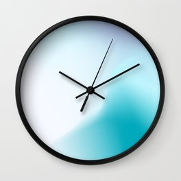 Holographic Gradient Design Wall Clock
